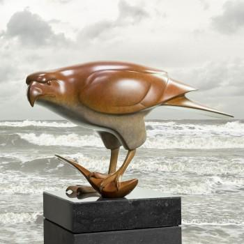 Roofvogel met vis no. 3